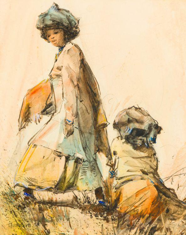 Titta Fasciotti; Two Xhosa Women