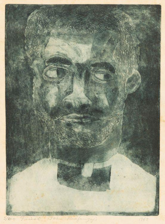 John Muafangejo; Priest