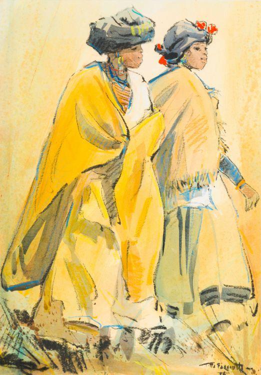 Titta Fasciotti; Galeka Women (Xhosa), Transkei