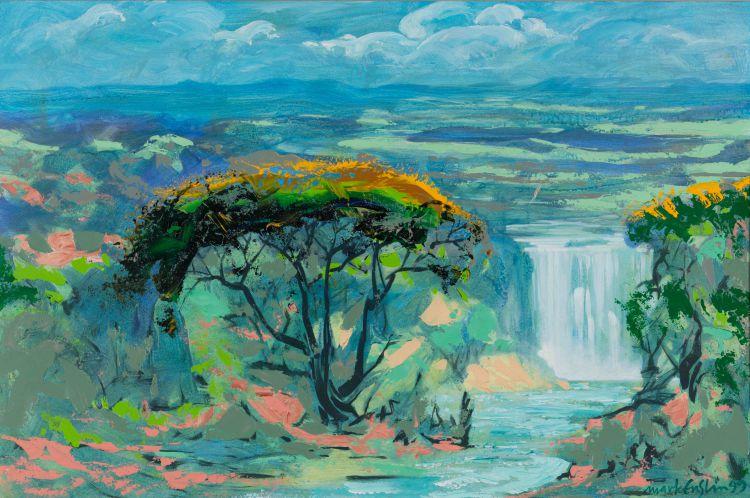 Mark Enslin; Waterfall