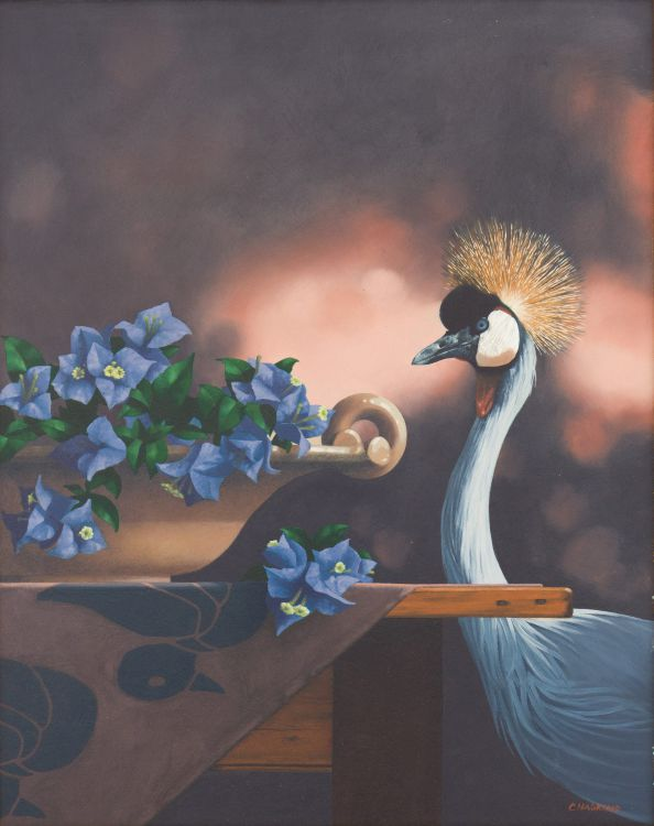 Christopher Haskins; Crowned Crane