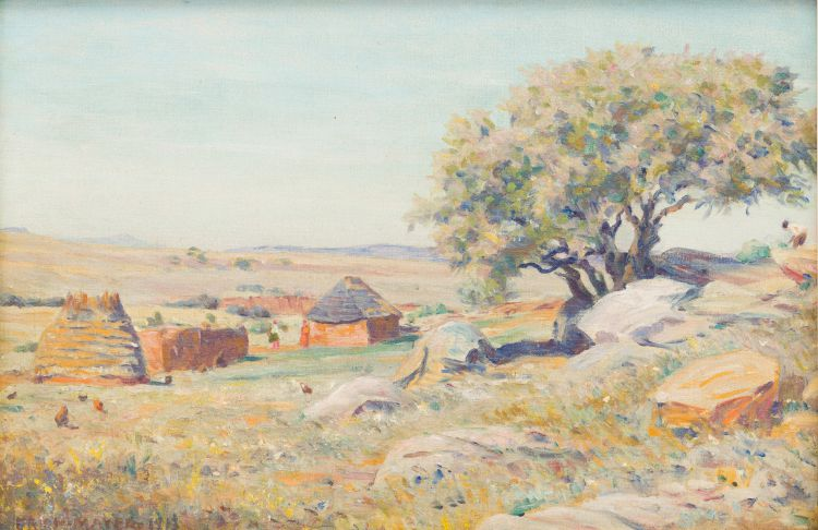 Erich Mayer; South African Village
