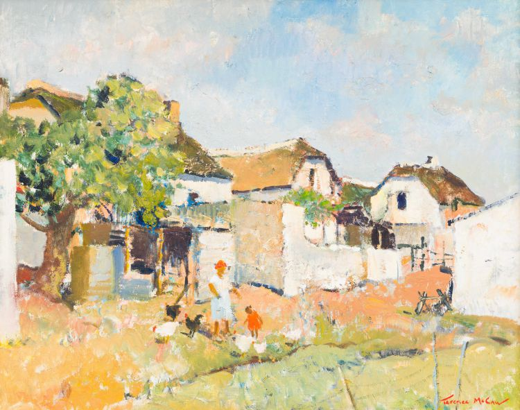 Terence McCaw; Sunbleached Houses (Elim Mission, Cape)