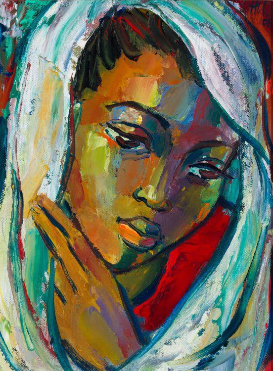 Hennie Niemann Jnr; Portrait of a Woman