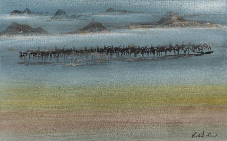 Gordon Vorster; Herd of Gemsbok