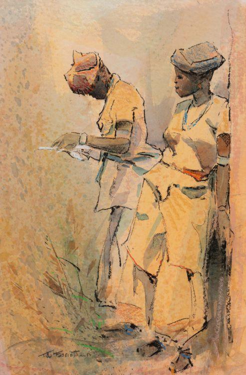 Titta Fasciotti; Xhosa Women