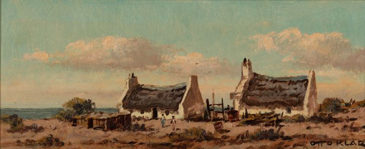 Otto Klar; Fishermen's Cottages
