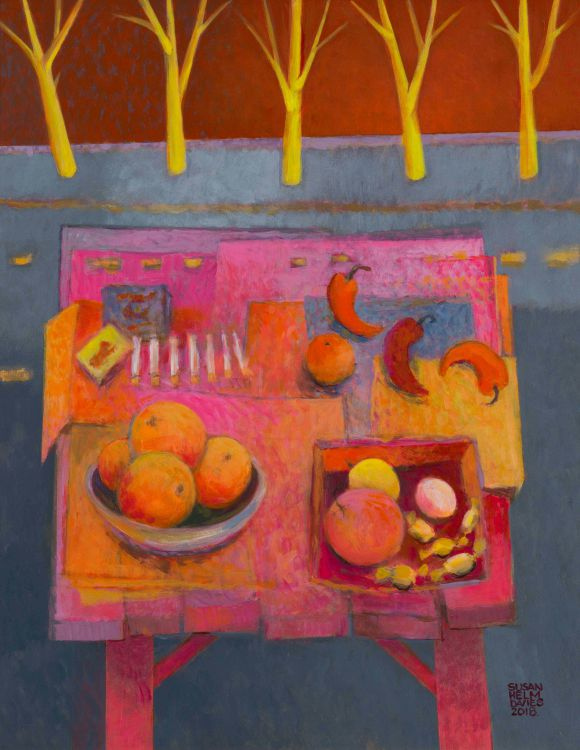 Susan Helm Davies; Trader's Table, Archbell Street, PMB
