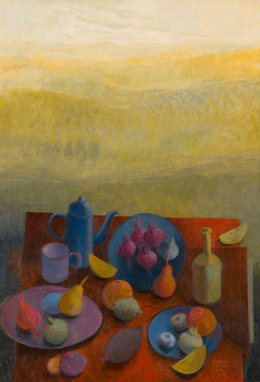 Susan Helm Davies; Laden Table