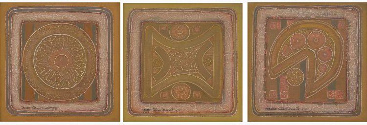 Bettie Cilliers-Barnard; Icon I, II and III, three