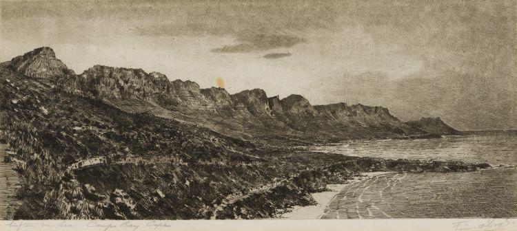 Tinus de Jongh; Clifton on Sea, Camps Bay, Cape