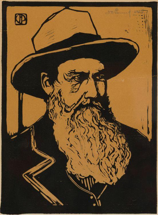 Jacob Hendrik Pierneef; Portrait of a Voortrekker (Nilant 136)