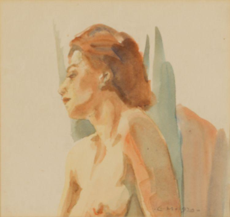 Erich Mayer; Nude Study
