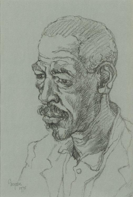 Gregoire Boonzaier; Head of a Man