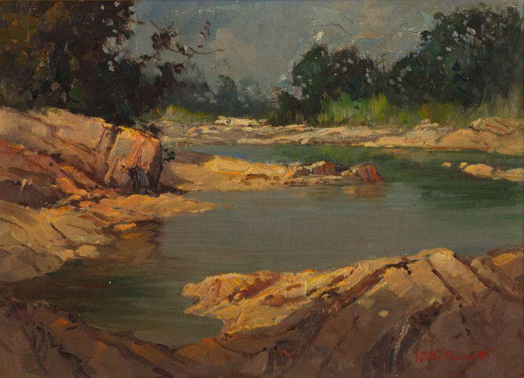Titta Fasciotti; River Landscape