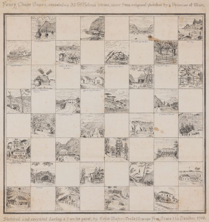 Erich Mayer; Chessboard