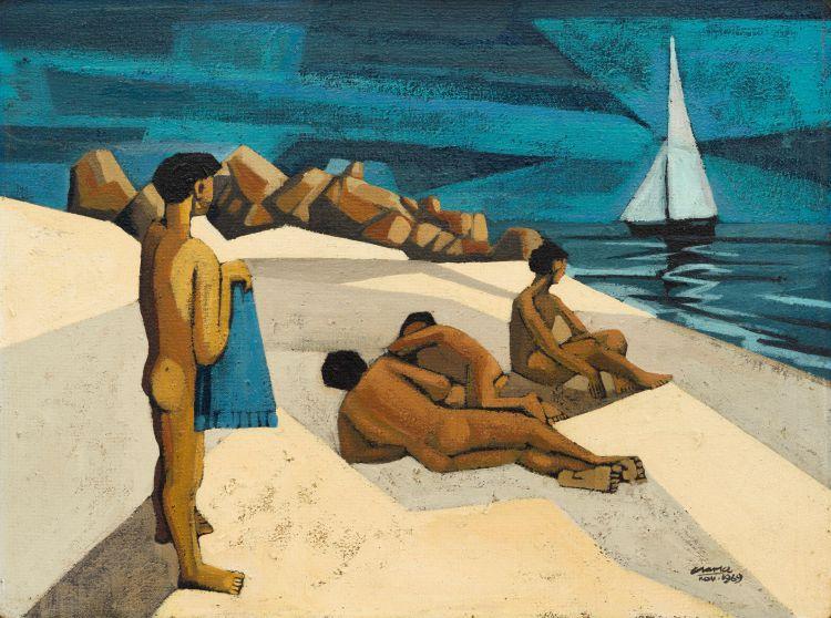 Peter Clarke; Sandy Bay