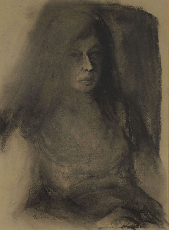 Jean Welz; Seated Woman