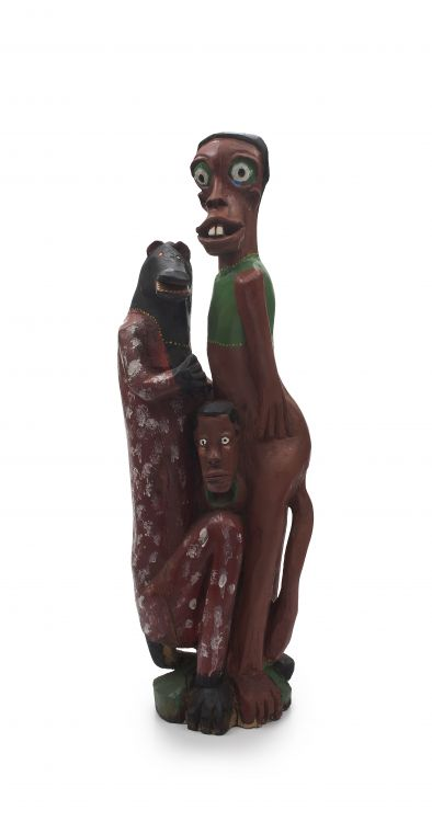 Phillip Rikhotso; Figural Group