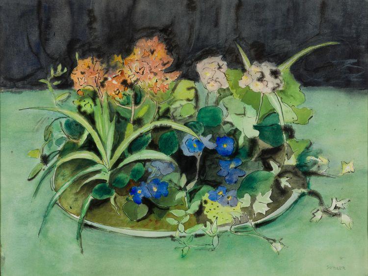 Maud Sumner; Still Life with Flowers