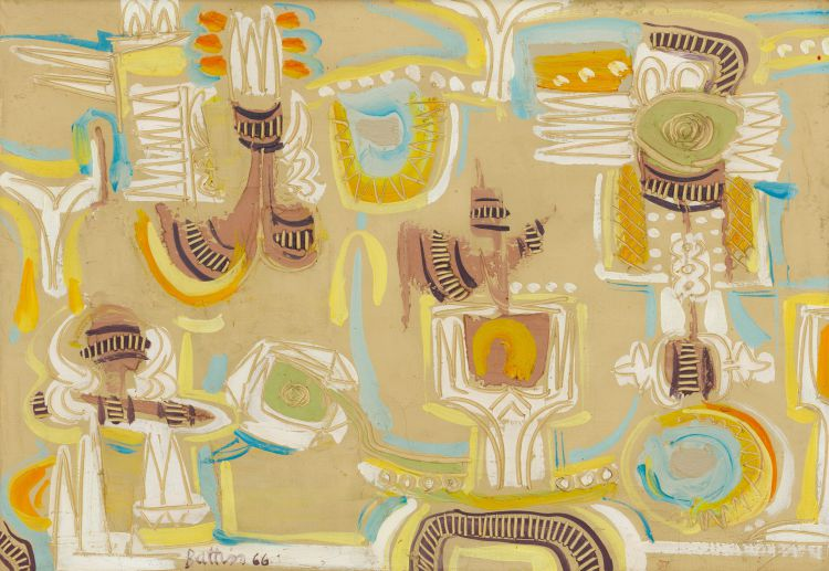 Walter Battiss; Abstract Composition