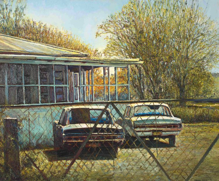 Adriette Myburgh; The Blue House, Standerton