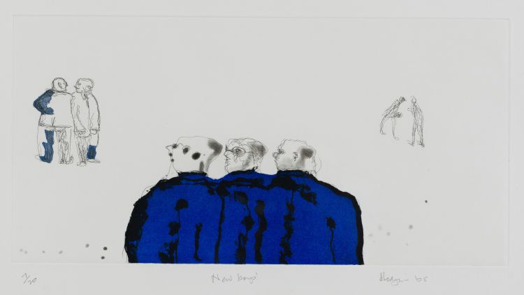 Robert Hodgins; New Boys
