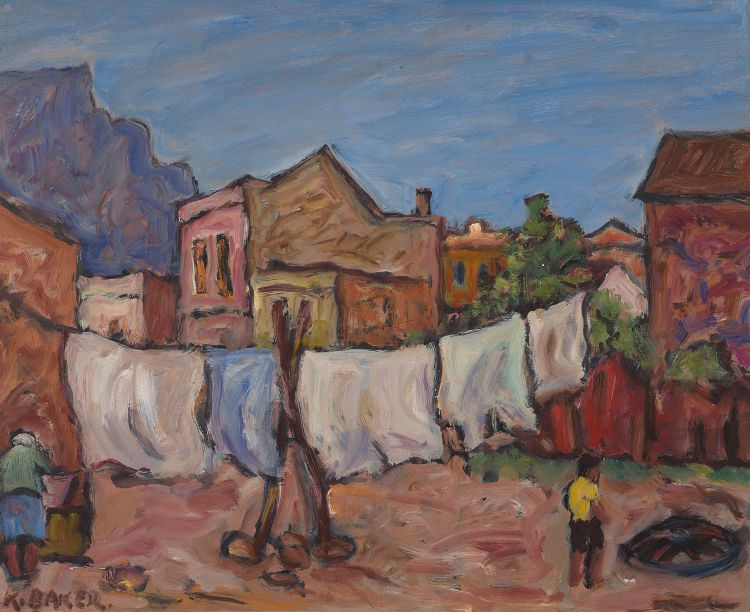Kenneth Baker; Washing Line