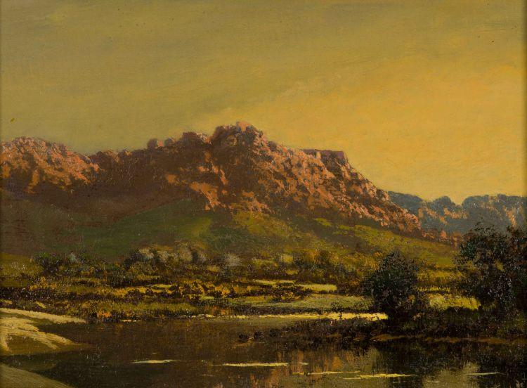 Tinus de Jongh; Pretty Lake, Worcester