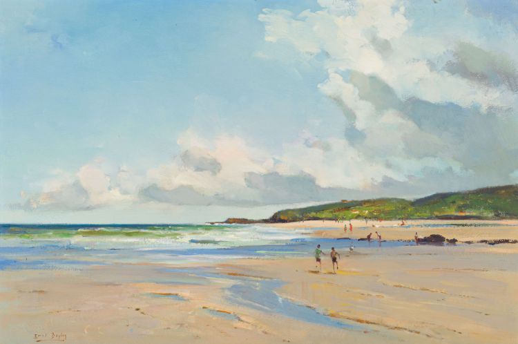 Errol Boyley; Beach Scene