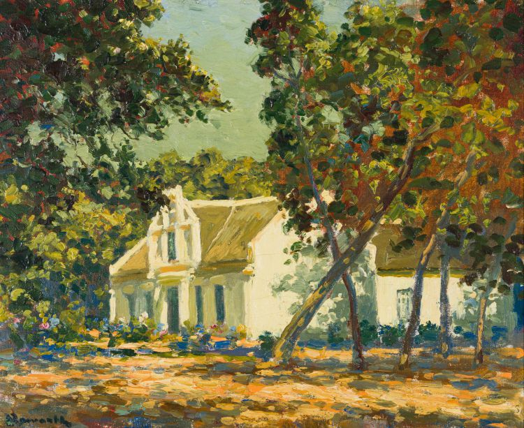 Edward Roworth; Cape Dutch House