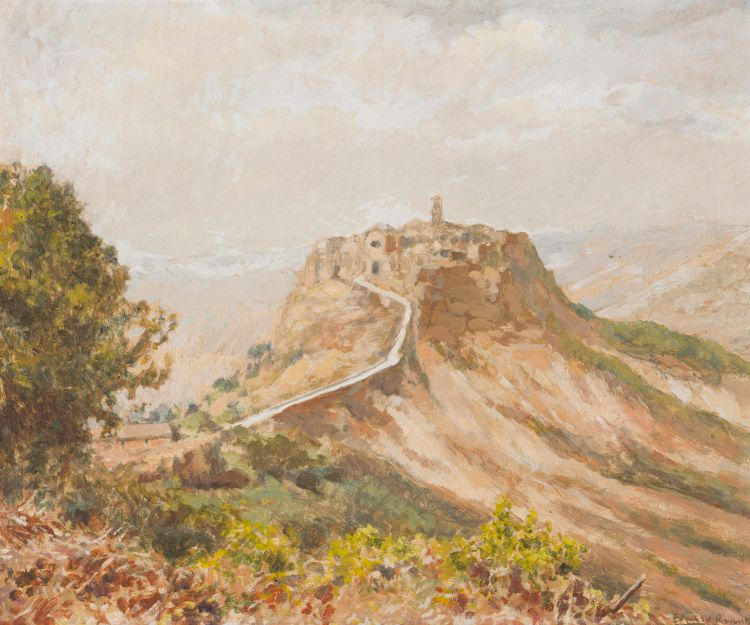 Edward Roworth; Walled Mountain Village