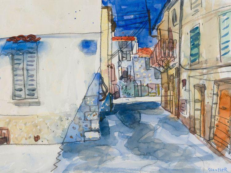 Glen Scouller; Shadows, Montaroux (sic) (Montauroux, France)