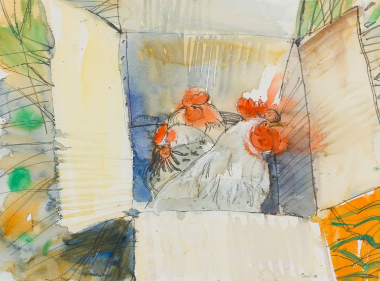 Glen Scouller; A Box of Chickens, Prince Albert (GS WR 165)