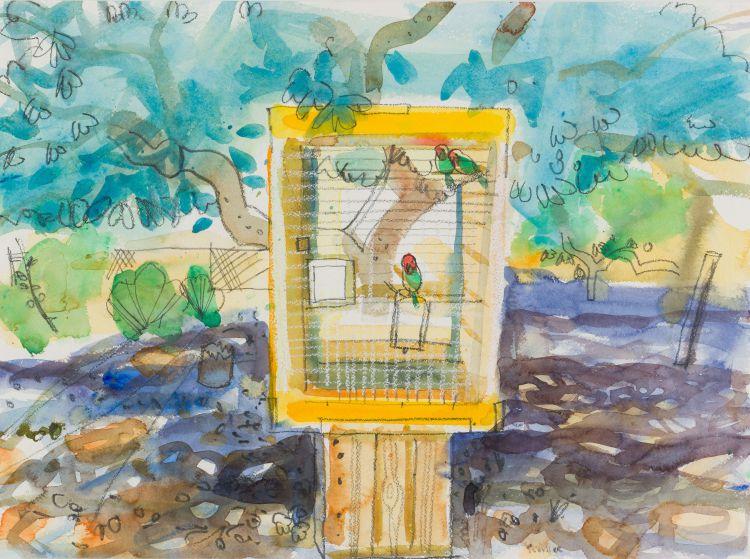 Glen Scouller; Love Birds, Prince Albert (GSWR 162)