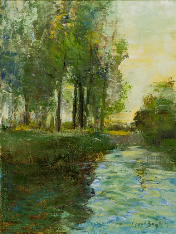 Errol Boyley; River in Spate, Petrusstroom, Midlands KwaZulu-Natal