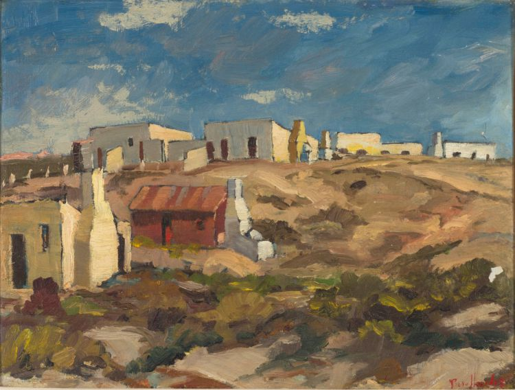 Piet van Heerden; Cottages, Arniston