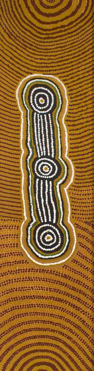 George Tjapanangka; Bushfire Dreaming