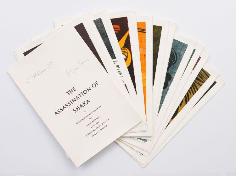Cecil Skotnes; The Assassination of Shaka, portfolio and book