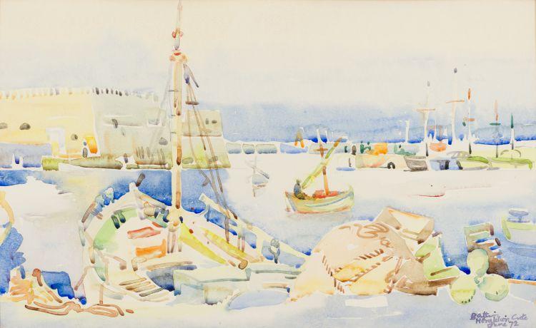Walter Battiss; Heraklion, Crete