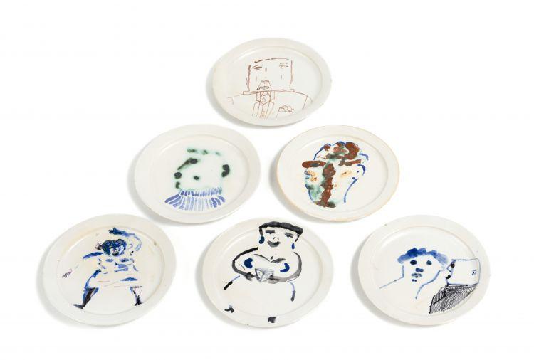 Robert Hodgins; Ceramic Plates