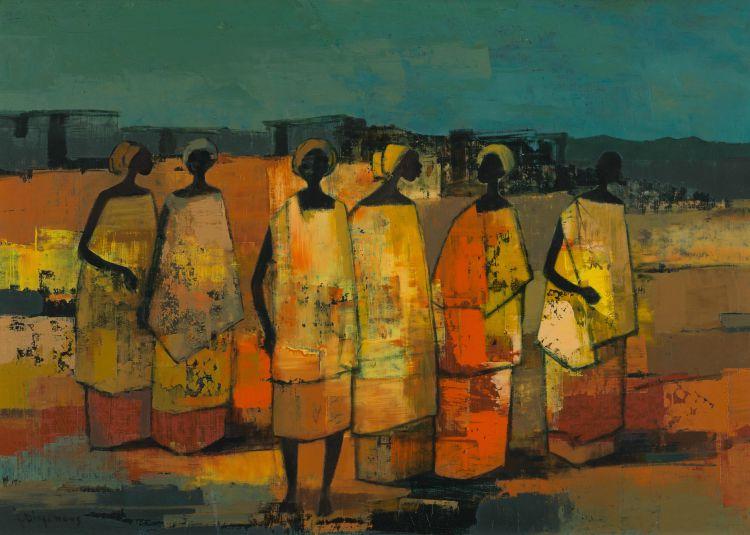 Jan Dingemans; African Figures