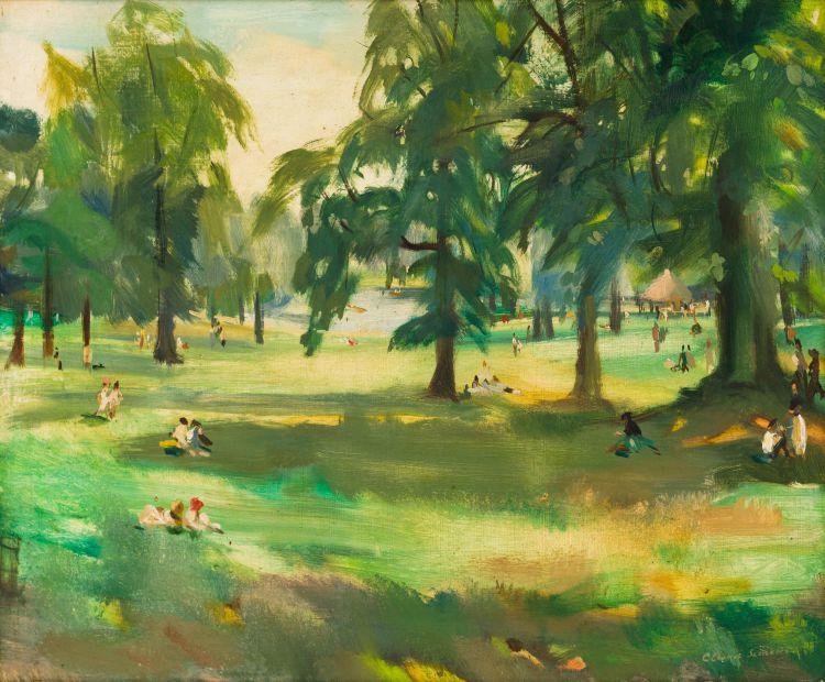 Clement Serneels; Le Bois de la Cambre (Brussels, Belgium)