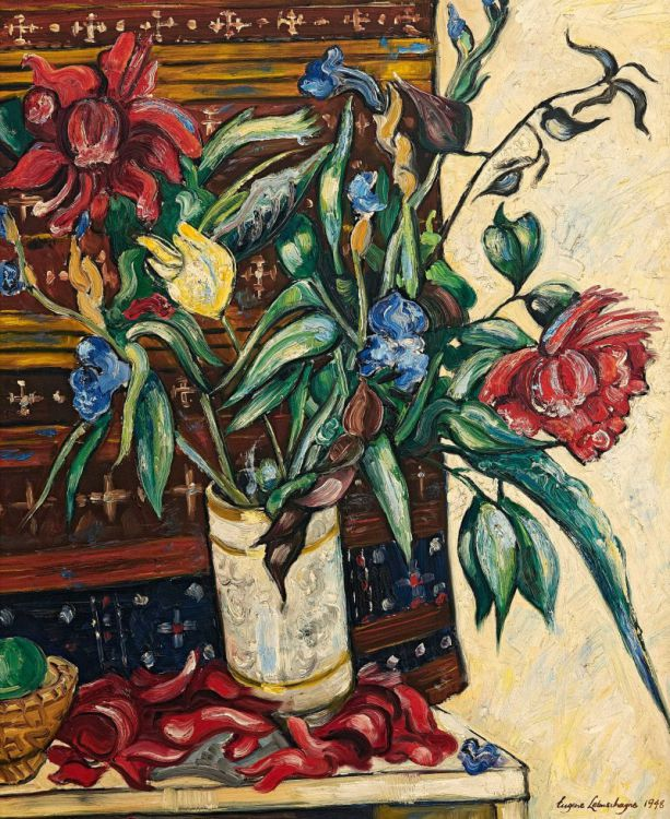 Eugene Labuschagne; Still Life with Flowers