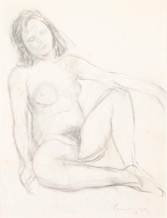 Jean Welz; Seated Nude