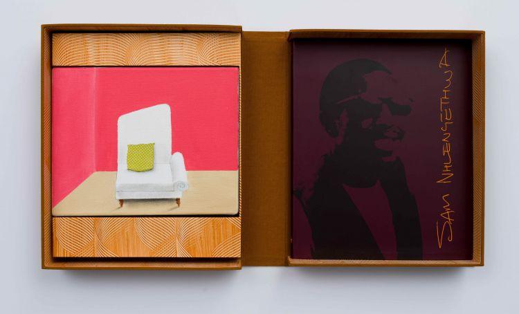 Sam Nhlengethwa; Deluxe Monograph and Painting