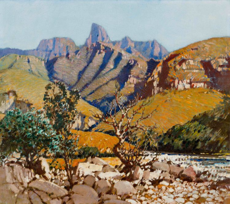 Robert Gwelo Goodman; The Drakensberg, Natal