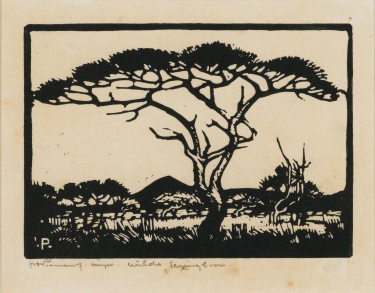 Jacob Hendrik Pierneef; Sering Boom (sic) (Nilant 96)