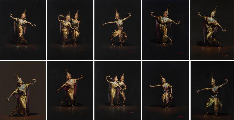 Thai School; Thai Dancers, ten