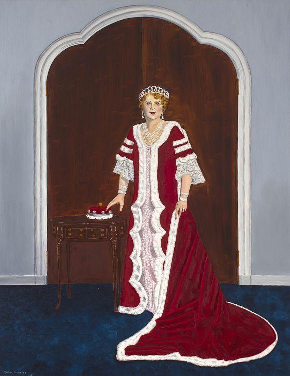 Muriel Rycroft; Coronation Portrait